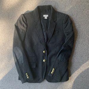 J Crew Factory Wool herringbone blazer